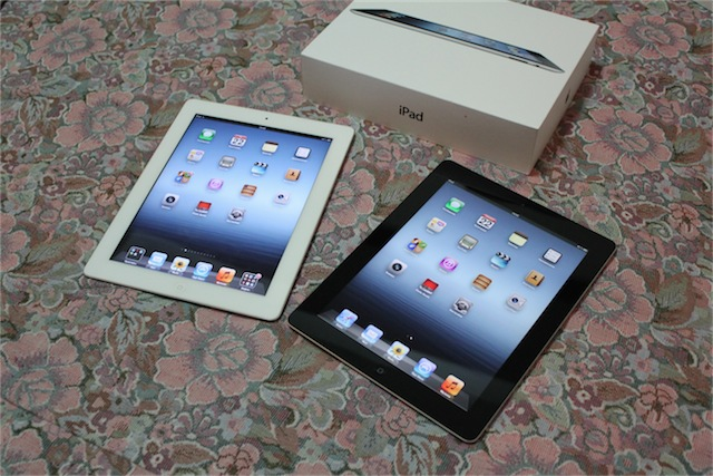 iPad 2 и The new iPad
