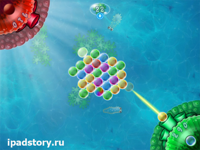 Bubble Bunch на iPad - игра для компании
