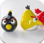 Черная птичка Angry birds из полимерной глины – мастер-класс