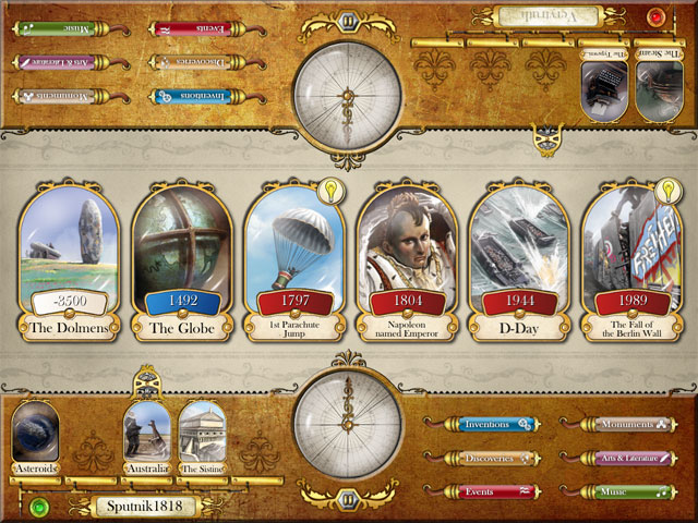 Timeline for iPad, режим игры на двоих, Face to Face