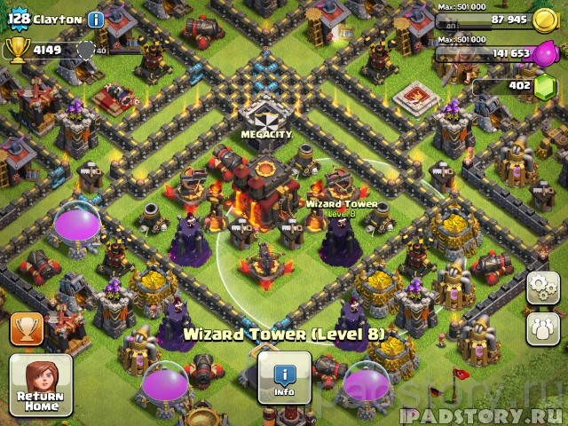 игрок Clayton - Clash Of Clans