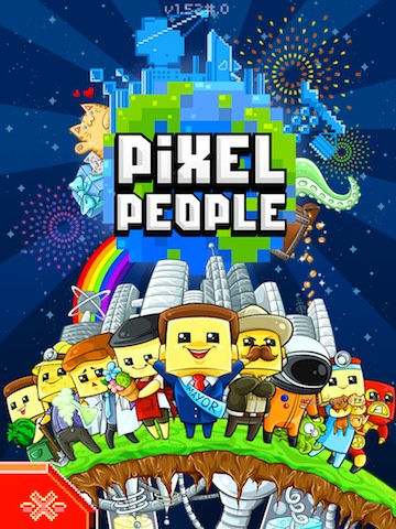 Pixel People - игра для iPad