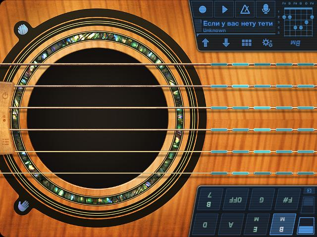 Pearl Guitar iPad