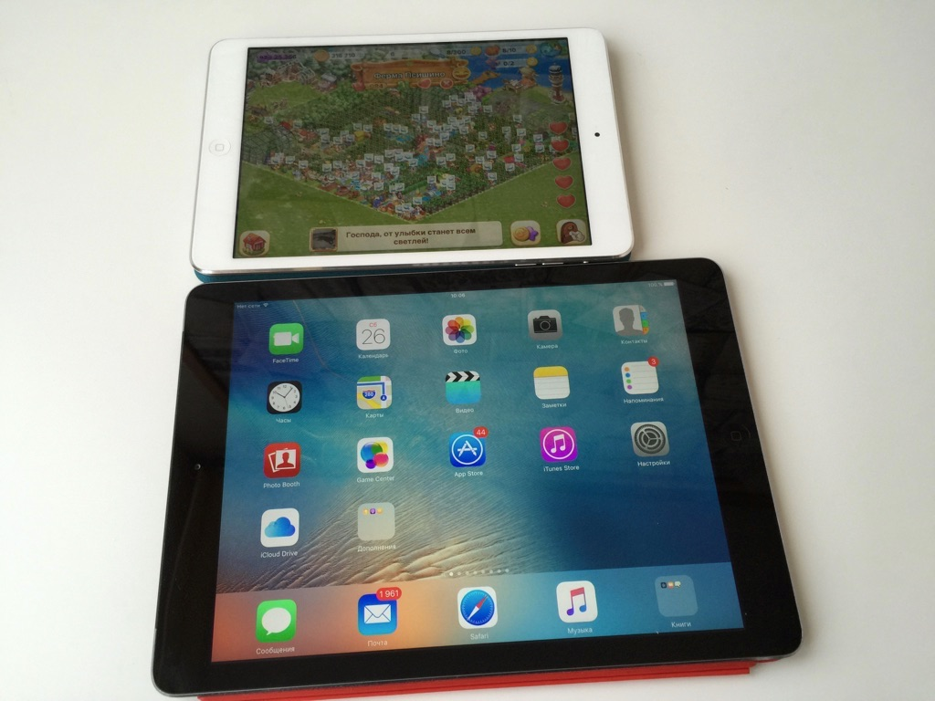 iPad Mini vs. iPad Air