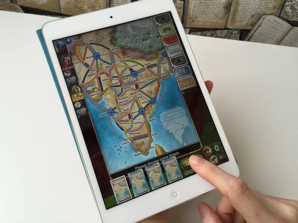 iPad Mini Ticket to Ride