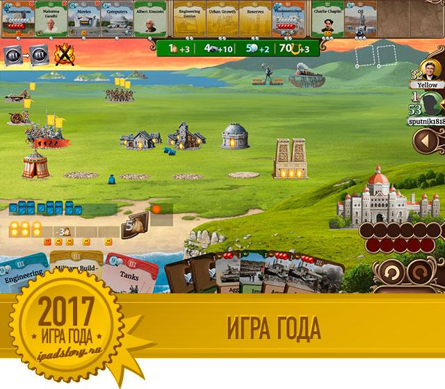 Лучшие игры 2017 на iPad