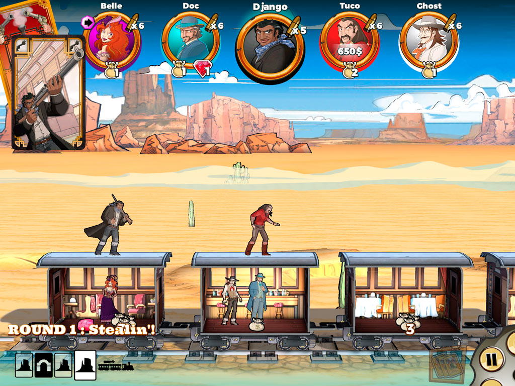 Colt Express iPhone iPad обзор