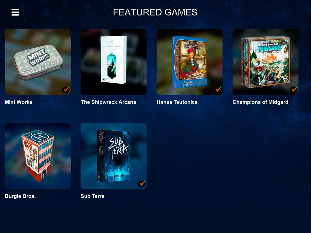 обзор Tabletopia на iPad