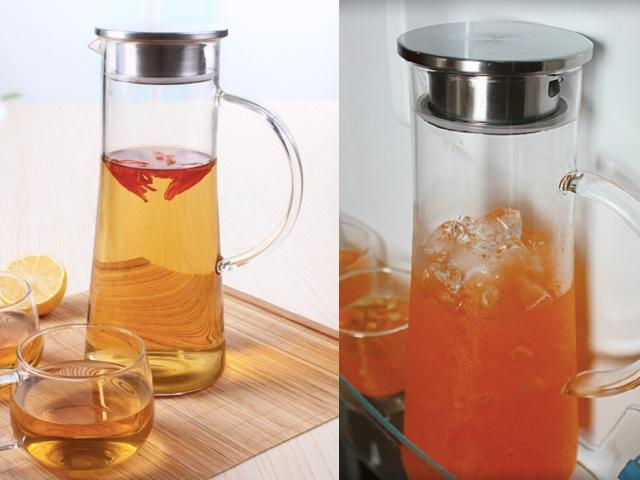 Чайник-кувшин стеклянный с Алиэкспресс