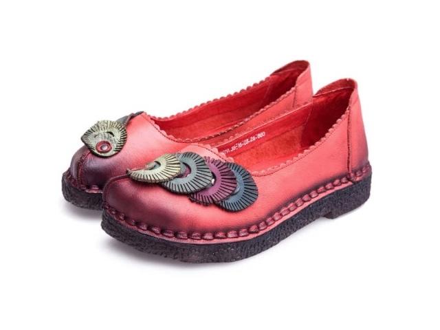 кожаные туфли с Алиэкспресс