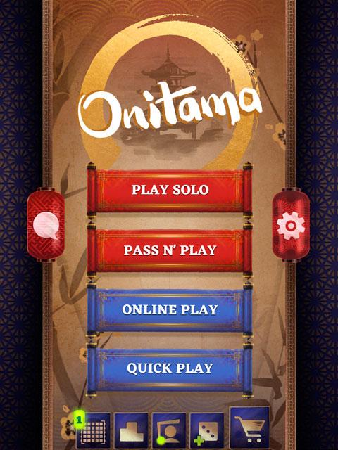 Обзор Onitama на iPad