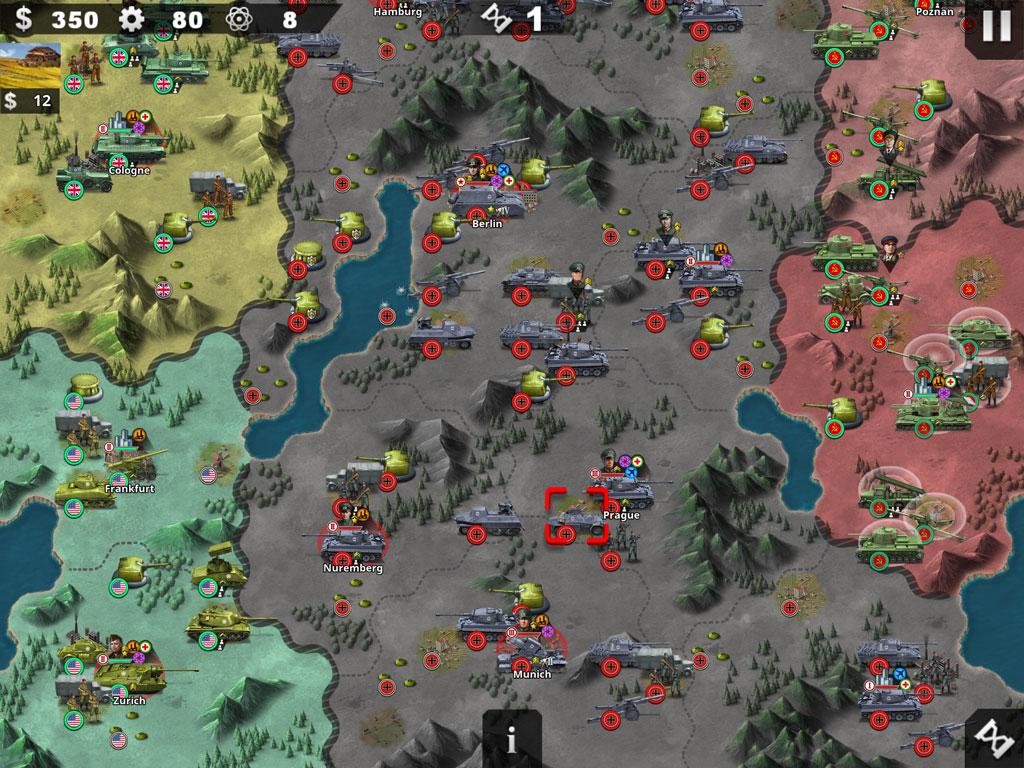 World Conqueror 4 — стратегия на тему Второй мировой и