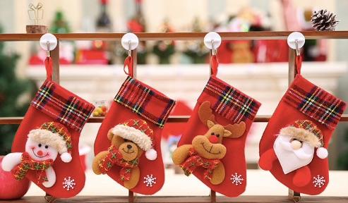 Новогодние носки для подарков на Алиэкспресс