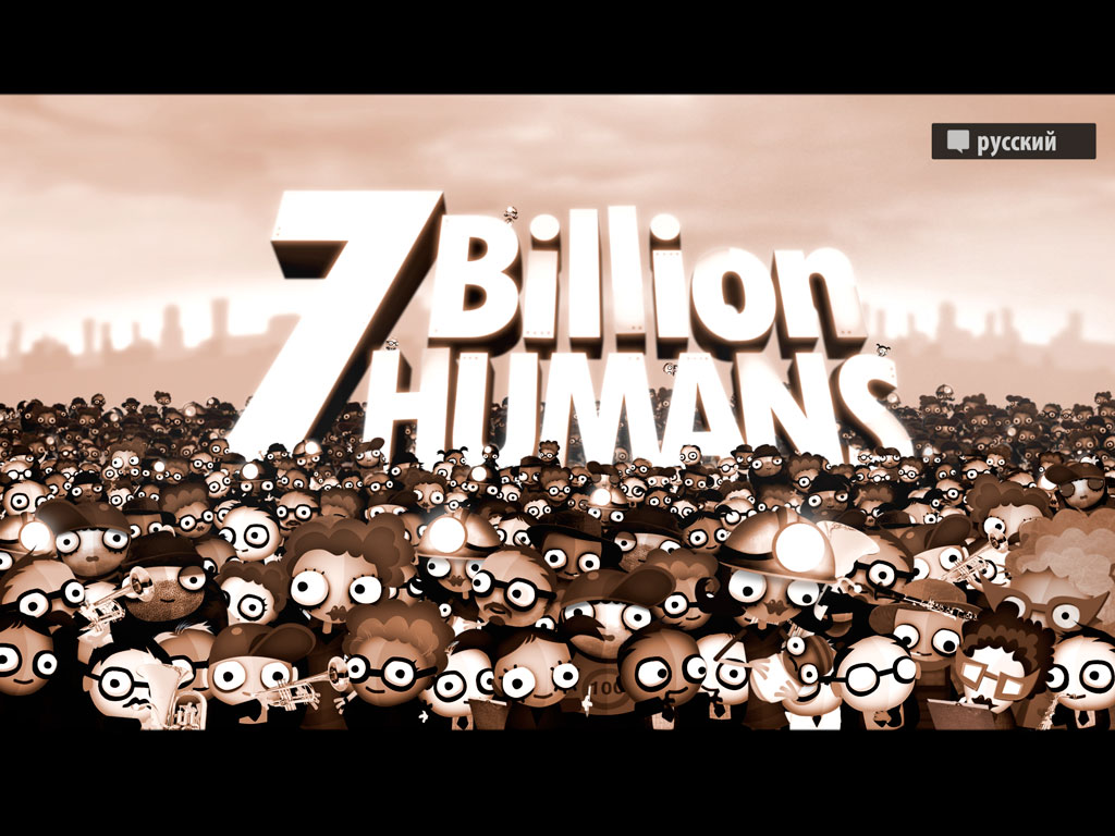 7 Billion Humans iPad